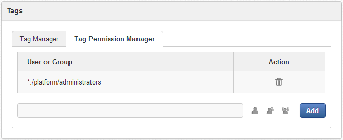 12 5 2 3 3  Setting permissions on public tags